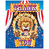 DISCONTINUED BIG TOP BDAY THANK YOU PARTY SUPPLIES