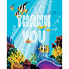 DISCONTINUED OCEAN PARTY THANK YOU PARTY SUPPLIES