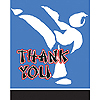 BLACK BELT KARATE BDAY THANK YOU PARTY SUPPLIES