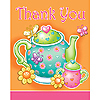 DISCONTINUED TEA FOR YOU! THANK YOU PARTY SUPPLIES
