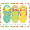 DISCONTINUED PARADISE COVE INVITE PSTCRD PARTY SUPPLIES