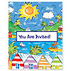 DISCONTINUED CALYPSO INVITATION PARTY SUPPLIES