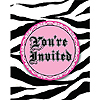DISCONTINUED SUPER STYLISH! INVITATION PARTY SUPPLIES