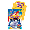 BIG TOP BIRTHDAY INVITATION PARTY SUPPLIES