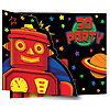 DISCONTINUED PARTY 'BOTS INVITATION PARTY SUPPLIES