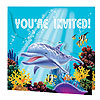 OCEAN PARTY INVITATION PARTY SUPPLIES