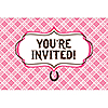 HEART MY HORSE INVITATION PARTY SUPPLIES