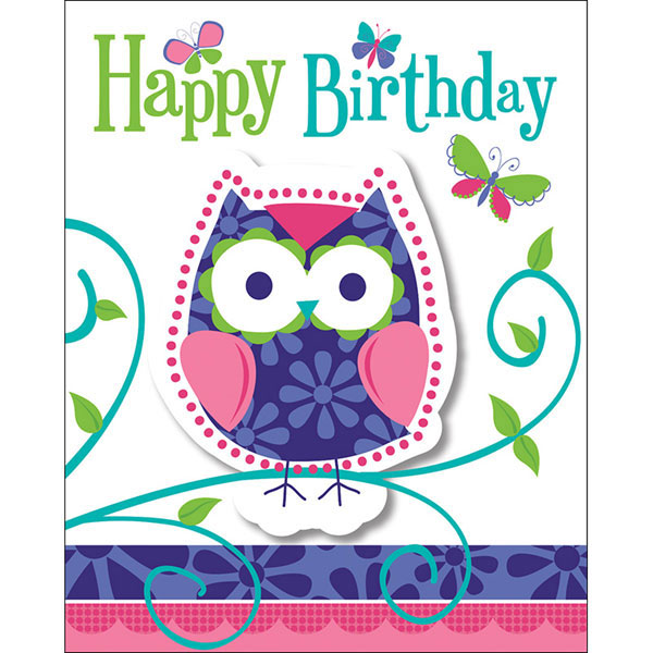 Owl pal birthday party supplies owl pal birthday invitation click for larger picture of owl pal birthday invitation party supplies filmwisefo