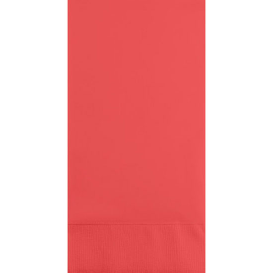 CORAL GUEST TOWEL PARTY SUPPLIES