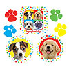 PAW-TY TIME! CUTOUT DECORATIONS PARTY SUPPLIES