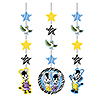 DISCONTINUED ZOU HANGING DECORATION PARTY SUPPLIES