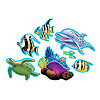 OCEAN PARTY CUTOUT ASSORTMENT PARTY SUPPLIES