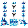 SHARK SPLASH HANGING DECORATIONS PARTY SUPPLIES