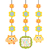 HAPPI TREE HANGING CUTOUTS PARTY SUPPLIES