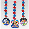 BIG TOP BIRTHDAY DANGLING CUTOUTS PARTY SUPPLIES