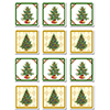 CHRISTMAS TREE COASTERS PARTY SUPPLIES