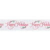 DISCONTINUED HAPPY HOLIDAY CREPE (30') PARTY SUPPLIES