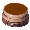 WOLF BROWN, 1/8 oz M/U CARDED PARTY SUPPLIES