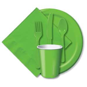 LIGHT GREEN TABLEWARE