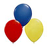 RED BLUE YELLOW BALLOON COMBO (SOLID) PARTY SUPPLIES