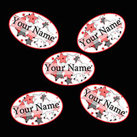 CUSTOM NAME DECO-FETTI PARTY SUPPLIES