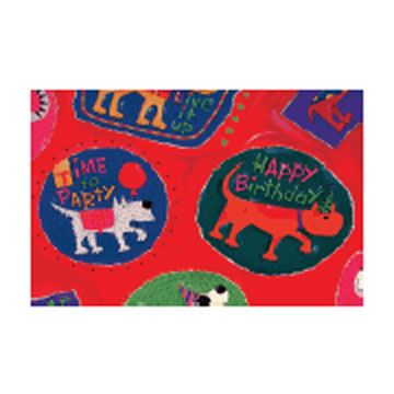 Click for larger picture of DISCONTINUED RAINING CATS DOGS ROLL WRAP PARTY SUPPLIES