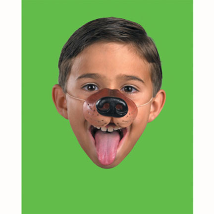 Click for larger picture of DOG NOSE PARTY SUPPLIES