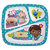 DOC MCSTUFFINS 3 SECTION SOUVENIR PLATE PARTY SUPPLIES
