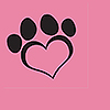 DOG LOVE PINK LUNCHEON NAPKIN(16/PKG) PARTY SUPPLIES