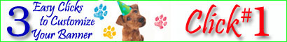 Dog Banners and Party Supplies
