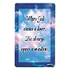 WHEN GOD CLOSES THE DOOR POCKET CARD PARTY SUPPLIES