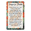 PRAYER FOR HEALTH POCKET CARD PARTY SUPPLIES