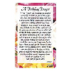 A BIRTHDAY PRAYER POCKET CARD PARTY SUPPLIES