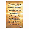 LET GO AND LET GOD POCKET CARD PARTY SUPPLIES