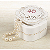 40TH ANNIVERSARY TRINKET BOX KEEPSAKE PARTY SUPPLIES