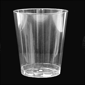 Click for larger picture of CLEAR WARE 10OZ. TUMBLER CLEAR 20/PKG PARTY SUPPLIES