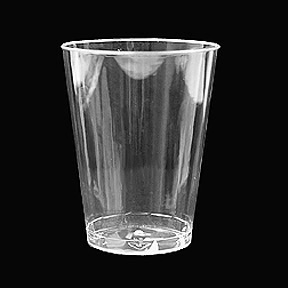 Click for larger picture of CLEAR WARE 7OZ. TUMBLER CLEAR 20/PKG PARTY SUPPLIES