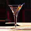 SQUARES 8OZ. MARTINI GLASS CLEAR PARTY SUPPLIES