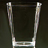 SQUARES 9OZ. TUMBLER CLEAR PARTY SUPPLIES