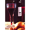 SQUARES 8OZ. WINE GLASS CLEAR PARTY SUPPLIES