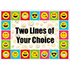EMOJI CUSTOMIZED PLACEMAT PARTY SUPPLIES