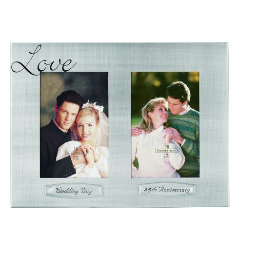 25th anniversary keepsakes party supplies - 25th anniversary double ...