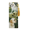 3-D LENTICULAR BOOKMARK YELLOW LABS PARTY SUPPLIES