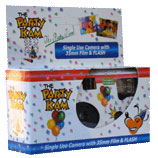 Click for larger picture of DISPOSABLE PARTY CAMERA PARTY SUPPLIES