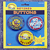 OFFICIALLY RETIRED BUTTONS PARTY SUPPLIES