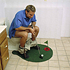 BATHROOM POTTY PUTTER MINI GOLF SET PARTY SUPPLIES