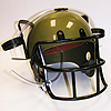 FOOTBALL DRINKING HELMET- GOLD PARTY SUPPLIES