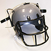FOOTBALL DRINKING HELMET- SILVER PARTY SUPPLIES