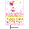 FAIRIES YARD SIGN PARTY SUPPLIES