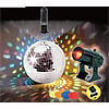 DISCO MIRROR BALL, MOTOR, AND LIGHT SET PARTY SUPPLIES